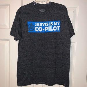 EUC Marvel Avengers S/S Tee Shirt Size L.